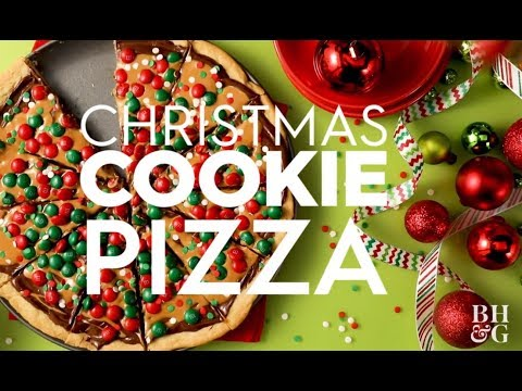 Christmas Version - Cookie Pizza | Fun With Food| Better Homes & Gardens