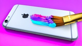 Custom Painting my iPhone...