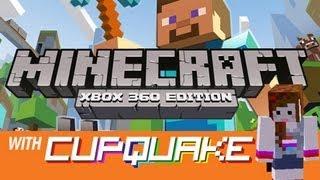 minecraft on xbox 360 with cupquake