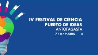 Invitación al Puerto de Ideas 2017 en Antofagasta
