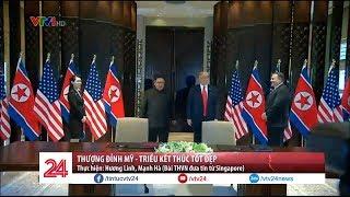 Thượng đỉnh Mỹ - Triều kết thúc tốt đẹp - Tin Tức VTV24