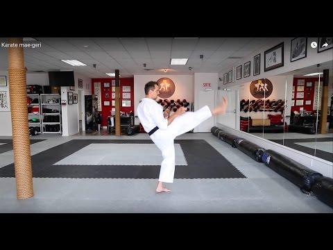 Karate KCRD - Mae-geri (coup de pied avant)