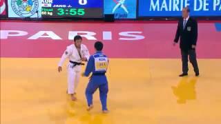 Judo Grand Slam Paris 2013: Final -60kg  TAKATO, Naohisa (JPN) -  JANG, Jin-Min (KOR)