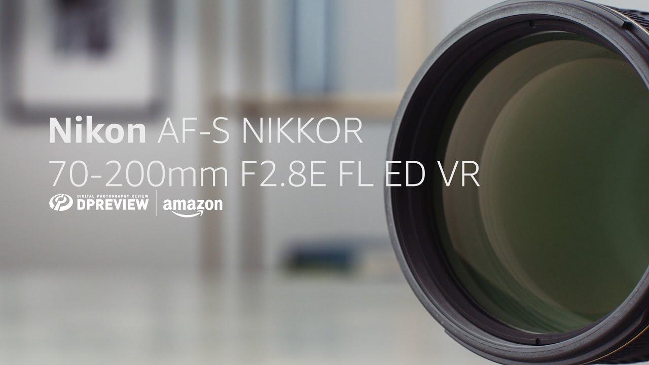 Nikon AF-S 70-200mm F2 8E VR Product Overview