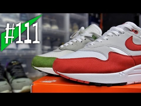 111 NIKE AIR MAX 1 OG 30th ANNIVERSARY 2017 Reviewon