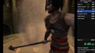 Prince of Persia Warrior Within Any% Speedrun 19:46