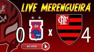 Paraná 0 x 4 FLAMENGO - Live Merengueira do ZOPILOTE FLA