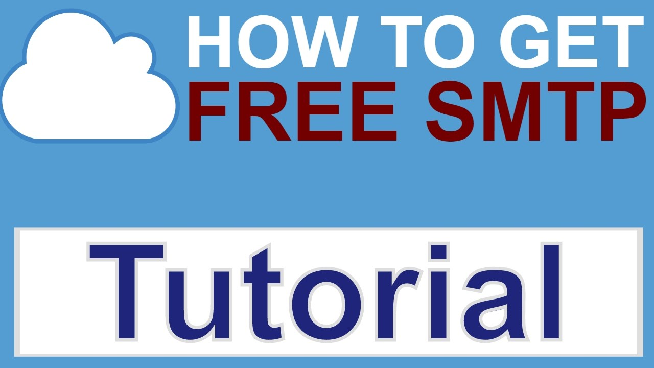 How to get free SMTP that inboxes  TUTORIAL