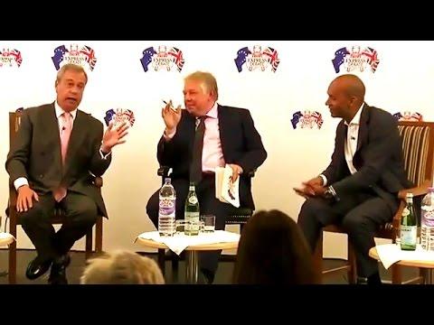 Nigel Farage: I think Hillary Clinton is a crook
