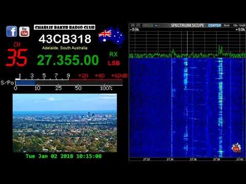 CB Radio Adelaide Australia - 02-01-2018 10:10hrs CH35 LSB