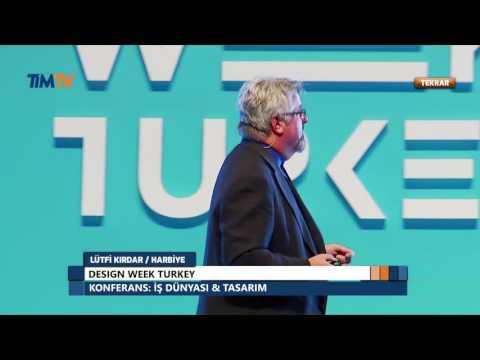 Design Turkey 2016 - Tim Fletcher İş Dünyası ve Tasarım Konferansı