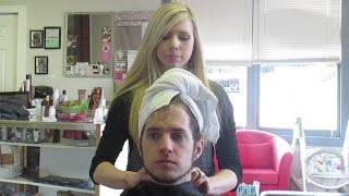 Repeat youtube video DADDYS SALON DAY! │2•18•15 DAILY VLOG