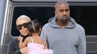 X17 EXCLUSIVE: Kim And Kanye Take Nori To Join Her Cousin Penelope At Dance Class
