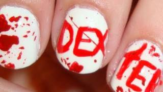 Dexter Morgan Inspired Nails