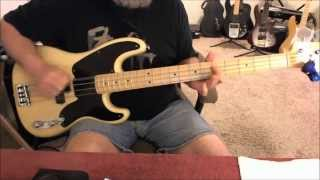 Wild Cherry - Play That Funky Music - Bass Cover