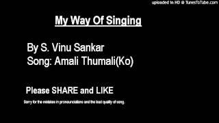 15 year old singing Amali Thumali (Ko) - MUST SEE !!!