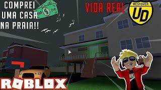 Roblox: Ultimate Driving ilhas Westover #07-comprei uma casa na praia!!!