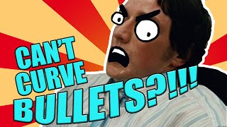 You CAN'T CURVE BULLETS! What the Mythbusters MISSED | The SCIENCE...of Wanted (2008)