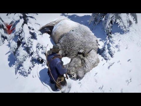 رحلة صيد الجاموس الثلجي الأسطوري في ريد ديد ريدمبشن 2 | RDR2 Legendary White Bison