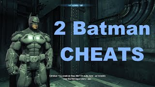 Batman: Arkham Origins GAME CHEATS (trainer +2)