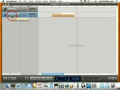 How to Import an audio file into GarageBand « GarageBand