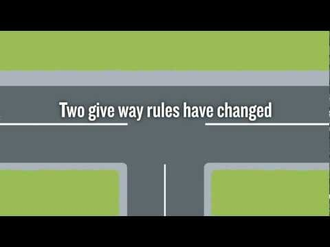 Uncontrolled T Intersection The give way rule for ...