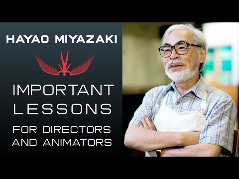 Important Lessons I Learned From Hayao Miyazaki
