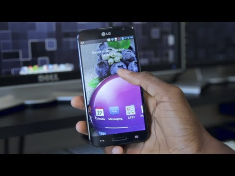 LG Optimus G Pro Review!