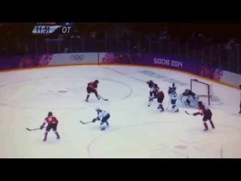 Marie Philip Poulin: Canada vs USA Gold Medal OT Game Winning Goal