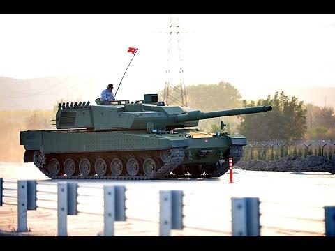 Turkish Altay Tank Test HD NEW