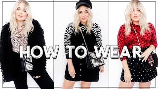 How to Wear Animal Print / Zebra & Leopard Print Outfit Ideas- Lily Melrose