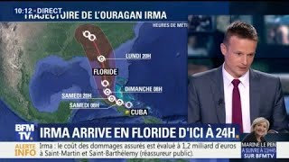 Cuba, Bahamas, Floride… quelle sera la trajectoire de l'ouragan Irma ce week-end?