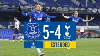 EVERTON 5-4 TOTTENHAM | EXTENDED FA CUP HIGHLIGHTS