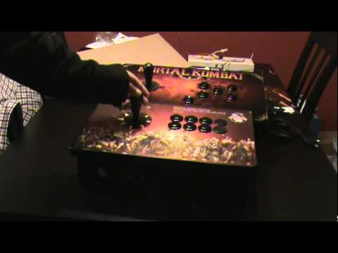 Fight Stick Comparison: Mortal Kombat T.E Stick vs Street Fighter Anniversary Edition and Review