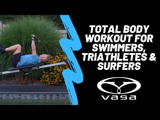Vasa Trainer Lane 9 - Total Body Workout for Swimmers, Triathletes & Surfers