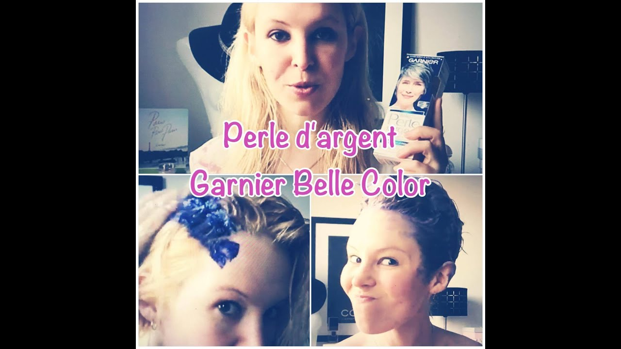test perle d 39 argent garnier belle color cheveux gris argent youtube. Black Bedroom Furniture Sets. Home Design Ideas
