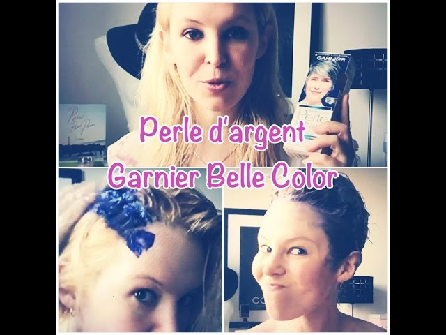 Coloration cheveux gris perle garnier