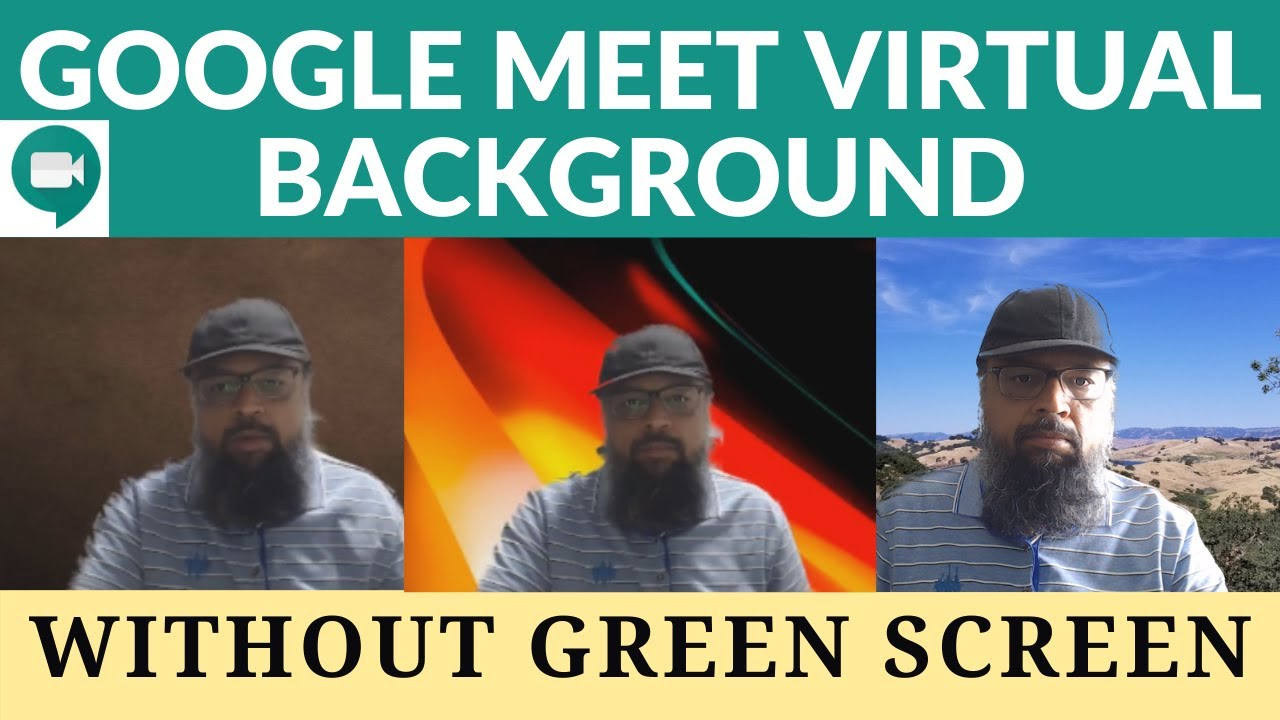 How to Use Virtual Background in Google Meet