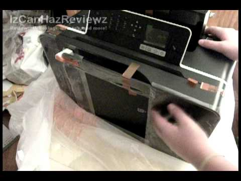 Dell V715W Printer Unboxing