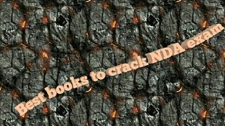 Best books to crack NDA exam