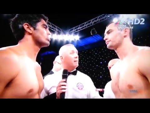 Vijender Singh vs Andrzej Soldra - Full Fight No.6 TKO