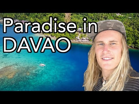 PARADISE in DAVAO?! - Samal Island // Philippines Travel Vlo