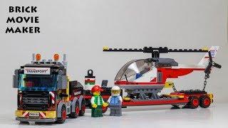lego city 60183 heavy cargo transporter video, lego city