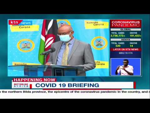 16 more test positive as 5 more discharged after recovery | COVID-19 updates in Kenya | FULL VIDEO