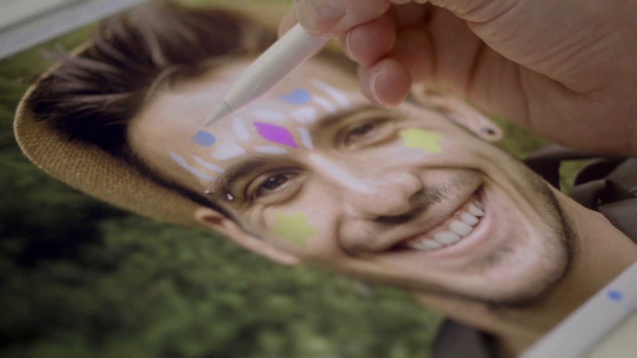 A New Spin on Face Painting