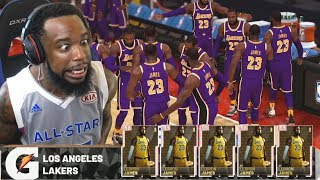 13 Pink Diamond LEBRON JAMES On The Court Challenge! NBA 2K19 MyTeam