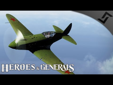 MiG-3-15 & Shovel Warfare - Heroes and Generals - Russian Fighter Gameplay