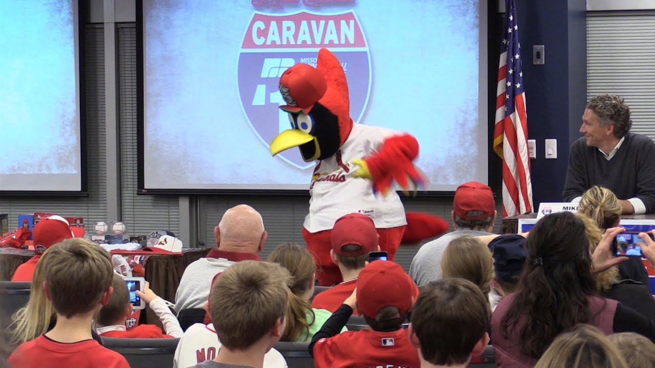 2016 cardinals caravan missouri farm bureau youtube for Bureau youtubeur
