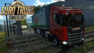 ESTRADAS PERIGOSAS - ESTRADA DENTRO DO MATO - Euro Truck Simulator 2 #02