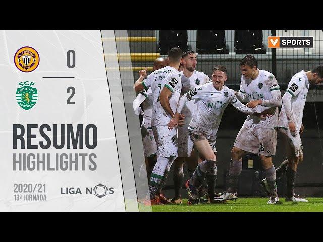 Highlights | Resumo: CD Nacional 0-2 Sporting (Liga 20/21 #13)